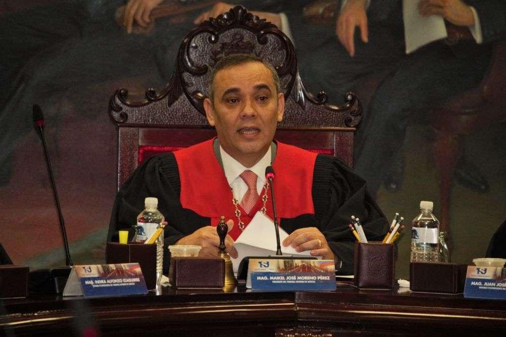 Moreno-Maikel-Presidente TSJ