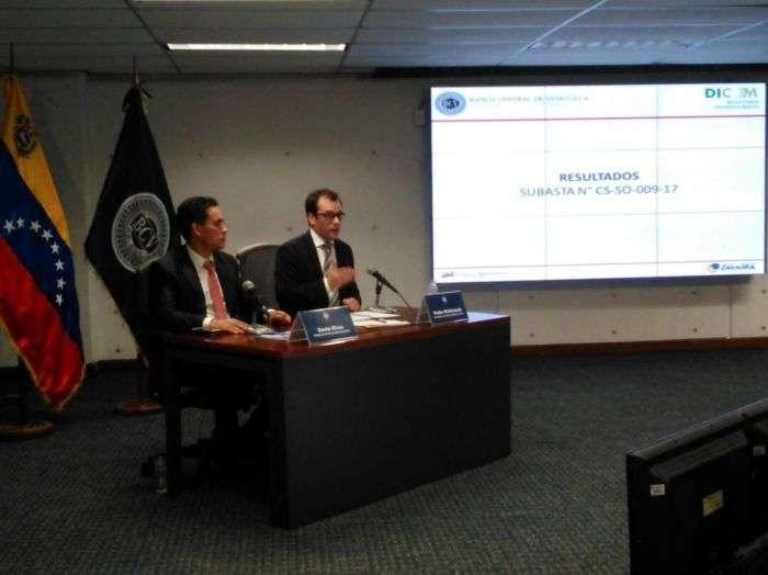 Nueva subasta del Dicom cierra hoy — VENEZUELA
