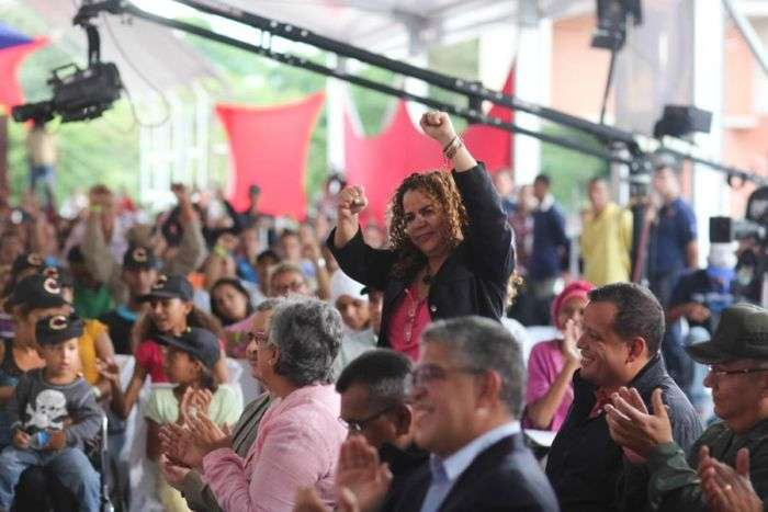 Entregaron espada de Bolívar a funcionarios sancionados por EE UU