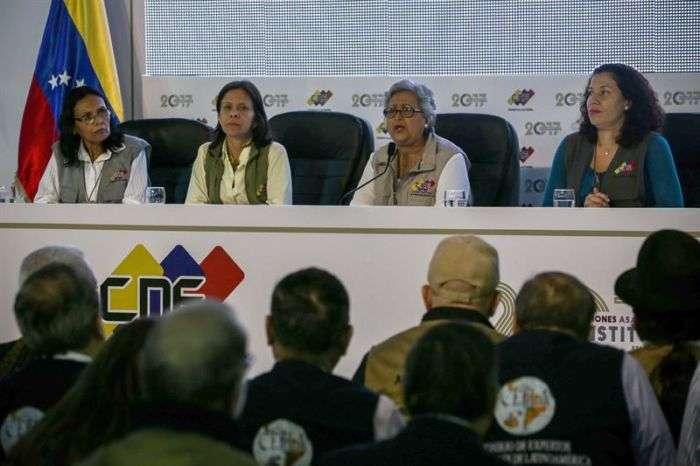 Poder electoral venezolano rechazó denuncia de manipulación en elección