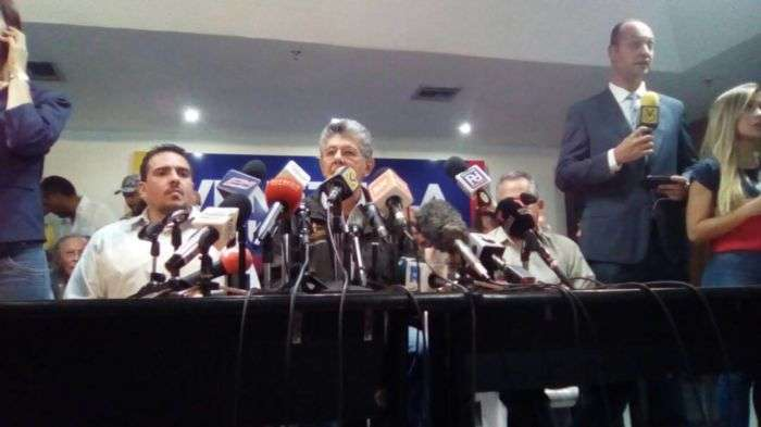 Primarias se realizarán sin presencia del CNE — MUD