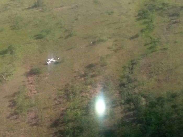 Un muerto y cuatro heridos en accidente aéreo en Ciudad Bolívar — VENEZUELA