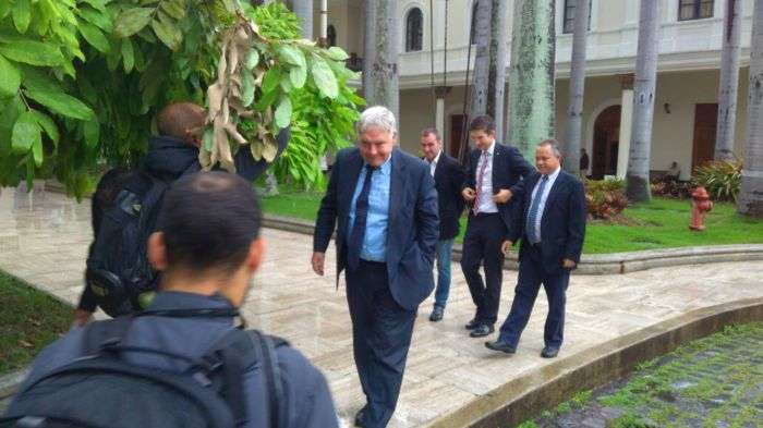 Canciller sostiene encuentro con el cuerpo diplomático acreditado en el país