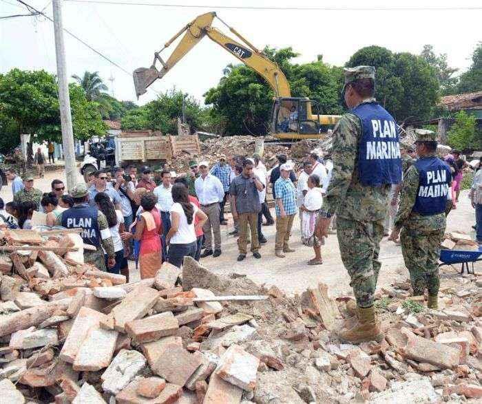 Venezuela envió 10.4 toneladas de ayuda humanitaria a México