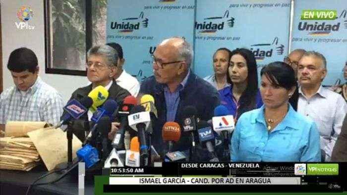 Primero Justicia: Ismael García pretende torcer la voluntad del pueblo de Aragua