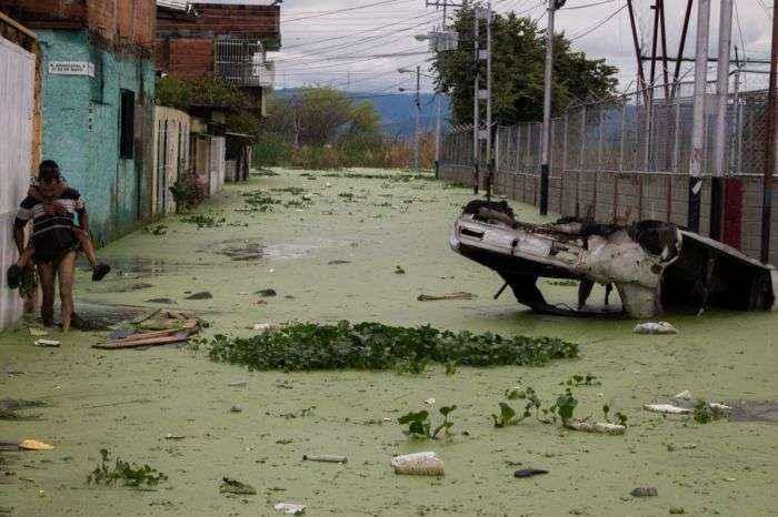 Así sobreviven los vecinos del Lago de Valencia (Galería)