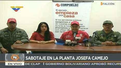 Autoridades venezolanas detienen plan de sabotaje eléctrico