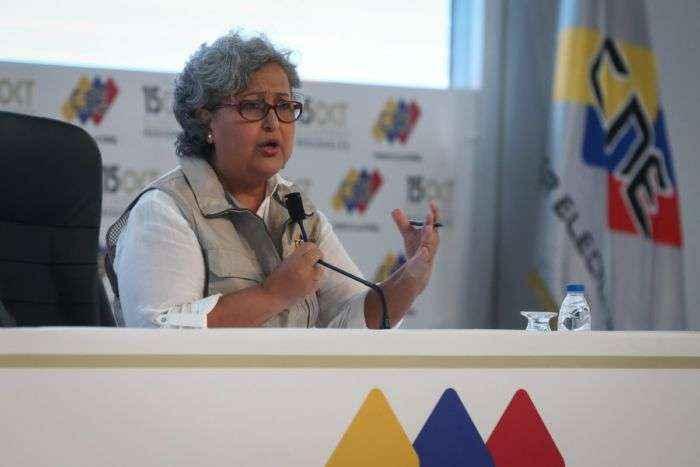 Tania D´Amelio: Municipales contarán con los mismos centros de votación que regionales