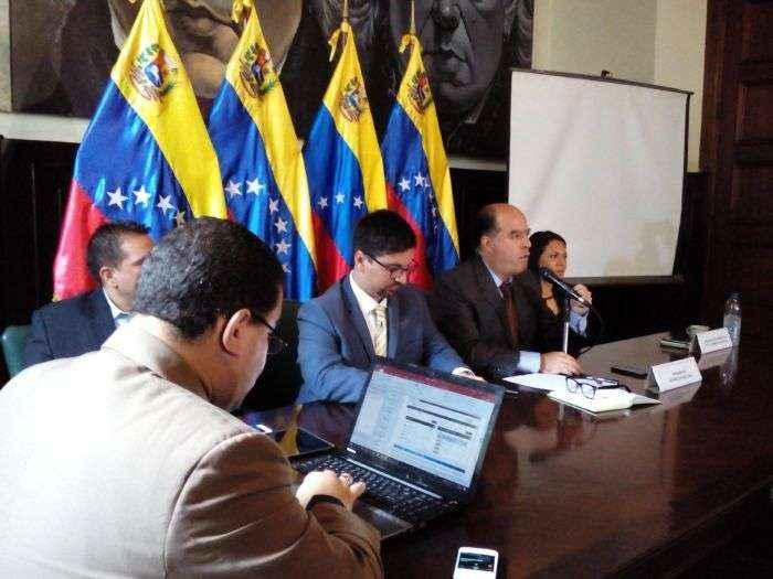 """El """"mensaje a García"""" que envió el presidente de la AN a gobernadores de oposición"""