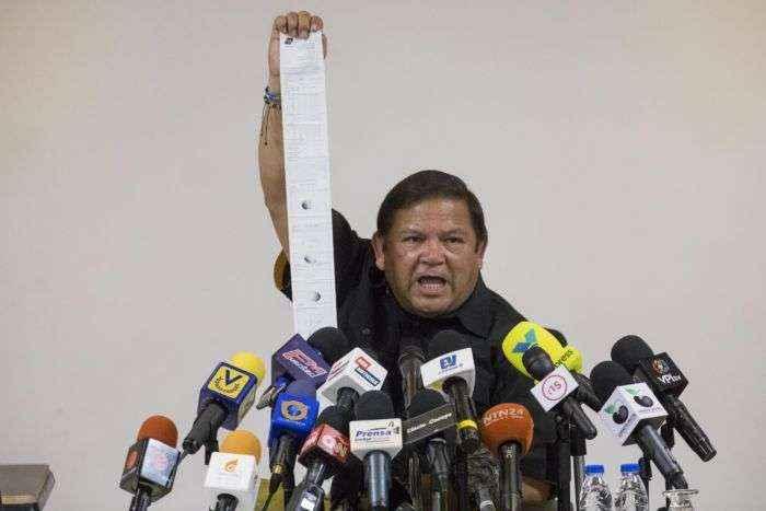 Velásquez llama a refundar la MUD para contrarrestar abstencionismo en nuevos comicios