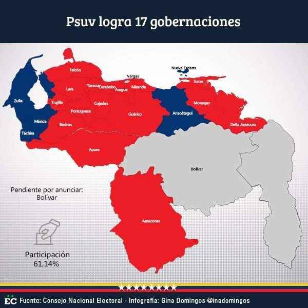 La oposición no reconoce los resultados de las elecciones en Venezuela