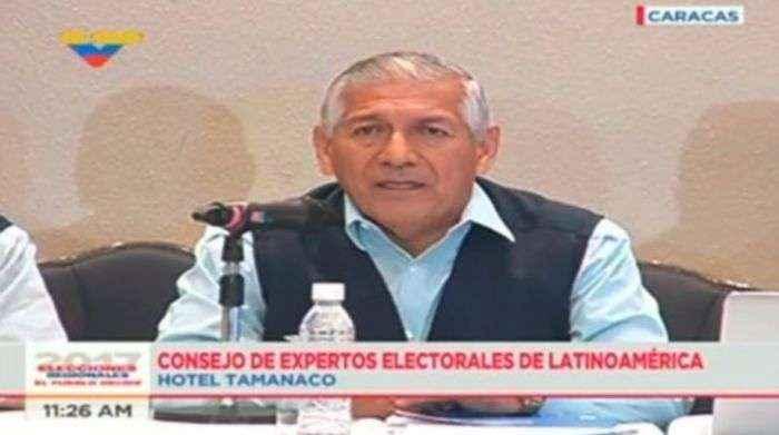 Expertos electorales del continente confían en el proceso electoral del #15Oct