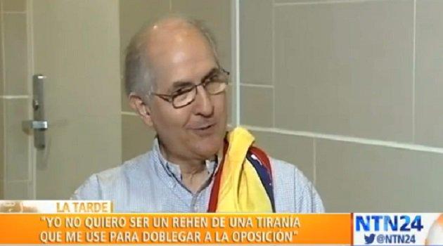 Antonio Ledezma reveló que salió de Venezuela con ayuda de militares