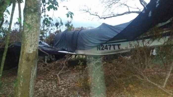ONA Incautó aeronave utilizada para el narcotráfico en Cojedes