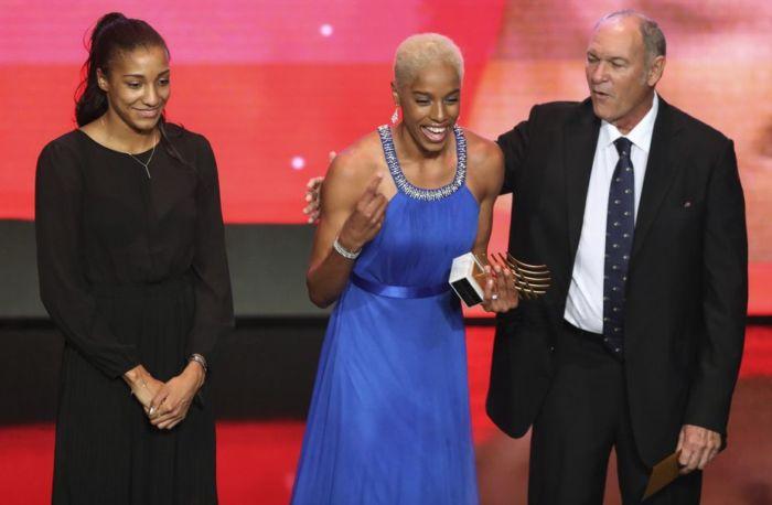 Yulimar Rojas y Karsten Warholm, trofeo Estrellas Emergentes de IAAF