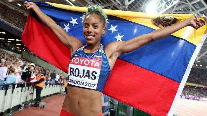 Yulimar Rojas coronada como la Mejor Atleta Femenina de América
