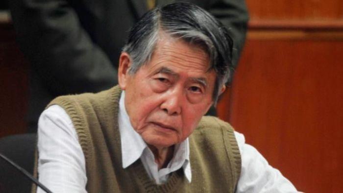 Alberto Fujimori pide perdón desde un hospital