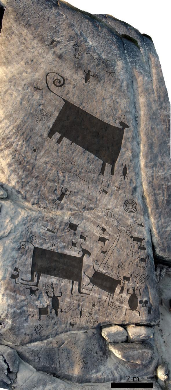 Estudio demuestra que en Venezuela se encuentran los petroglifos más grandes del mundo