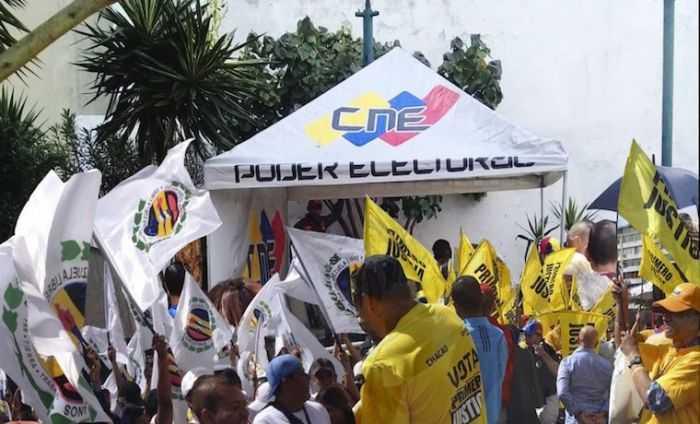 CNE abre lapso de impugnación a partidos que cumplieron con la validación