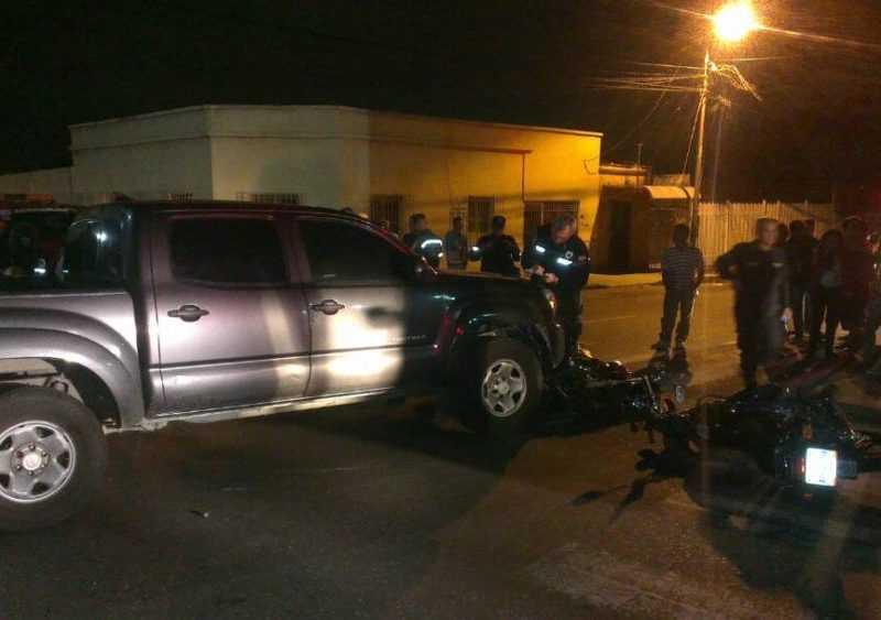 Oswaldo Rivero atropelló a cuatro bomberos en Barquisimeto