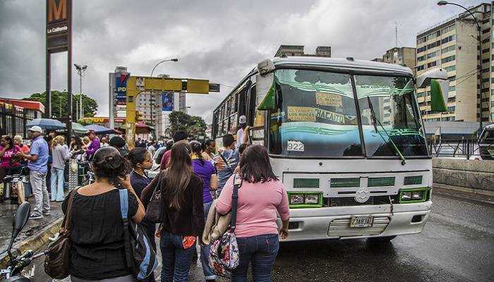 Transportistas de Caracas propusieron incrementar el pasaje a Bs. 2 mil