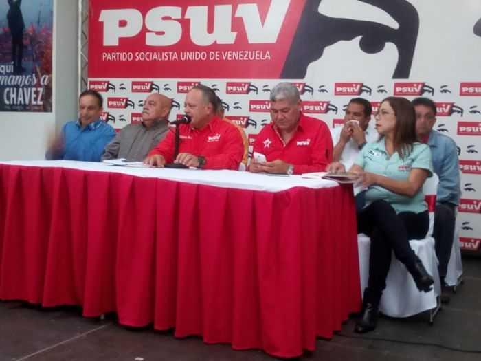 El PSUV apoya la candidatura de Maduro para las presidenciales
