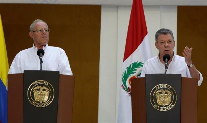 Kuczynski partió a Cartagena de Indias — Gabinete Perú-Colombia