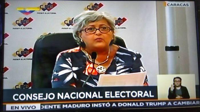 Tibisay Lucena: Centros de votación reubicados serán retornados para las presidenciales