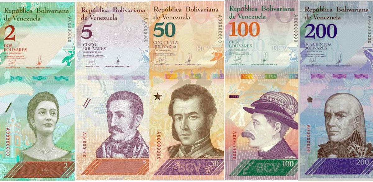 Conozca el nuevo cono monetario que entrará en vigencia el 4 de junio (Fotos)
