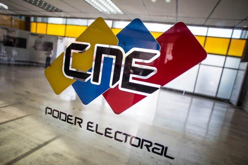 CNE escogerá posición de partidos en la boleta