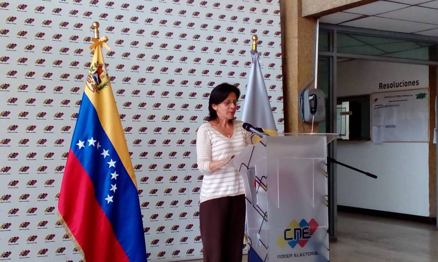 Campaña electoral se desarrolla de manera satisfactoria — CNE