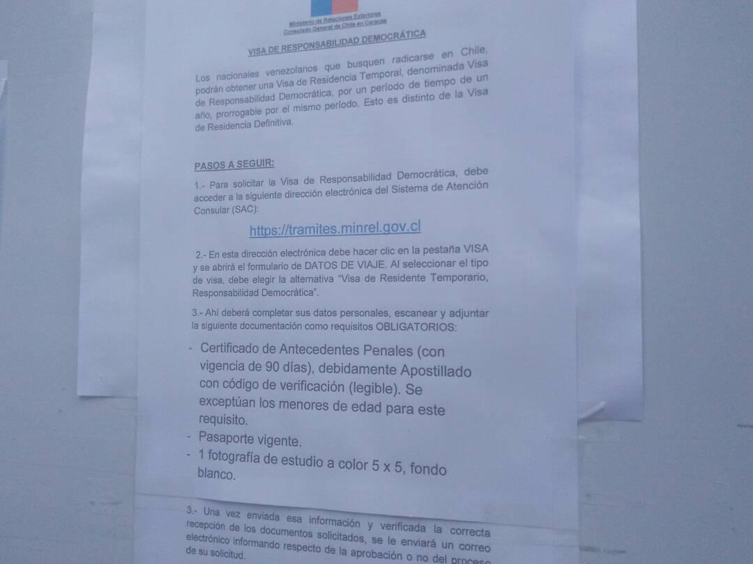 Lo Que Debe Saber Para Solicitar La Visa Especial En Chile