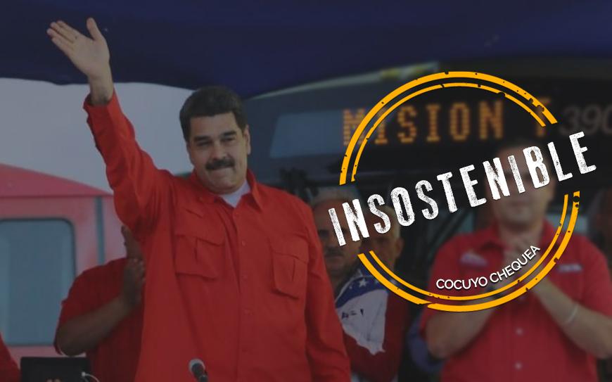 Maduro sigue aspirando a 10 millones de votos