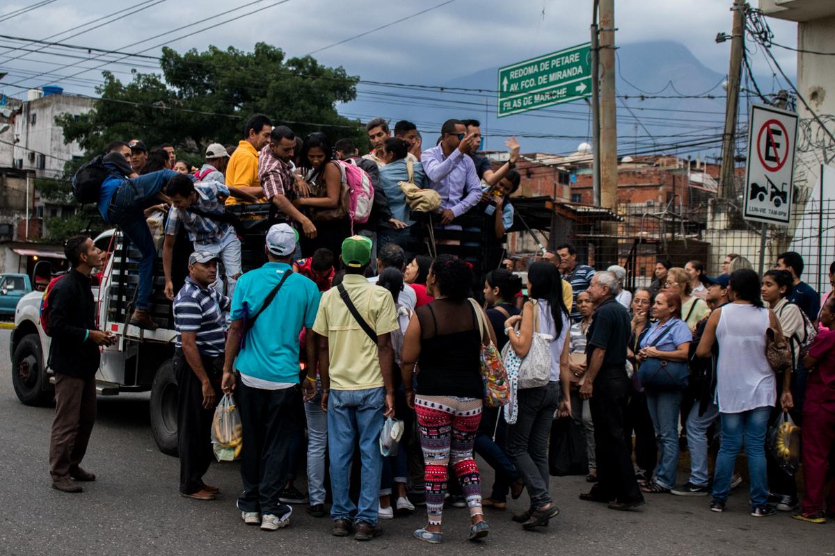 caos del transporte