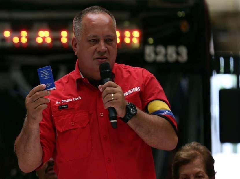 Estados Unidos continuará atacando a Venezuela después del 20 M — Cabello
