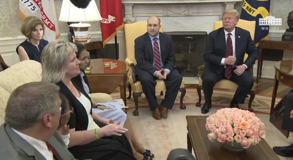 """Joshua Holt en la Casa Blanca: """"Las últimas 48 horas han sido como para escribir un libro"""""""
