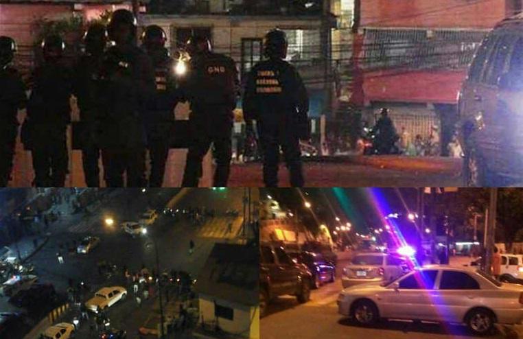 Detienen a dos GNB que presuntamente se enfrentaron a la Dgcim en Petare