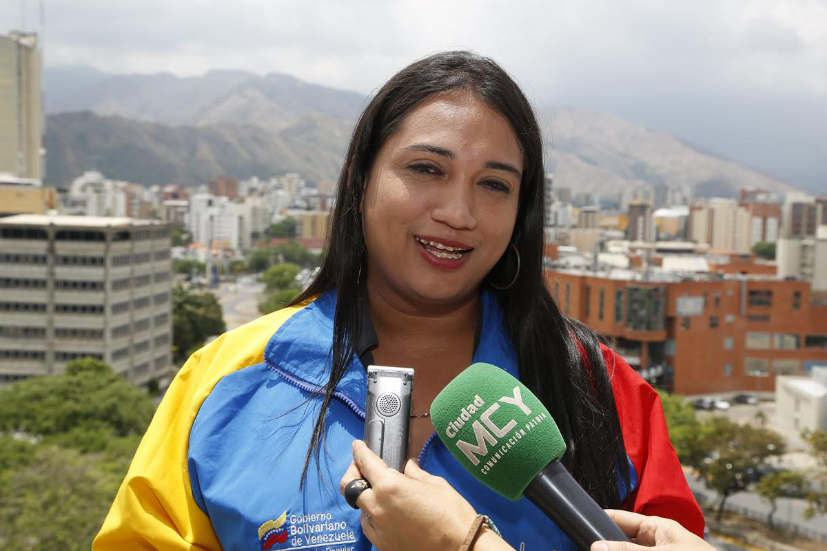 Ronny Ortega, diputada transgénero de Aragua