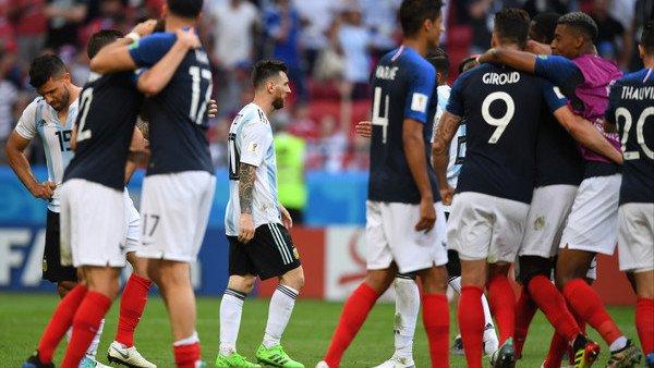 Francia venció a Argentina 4-3