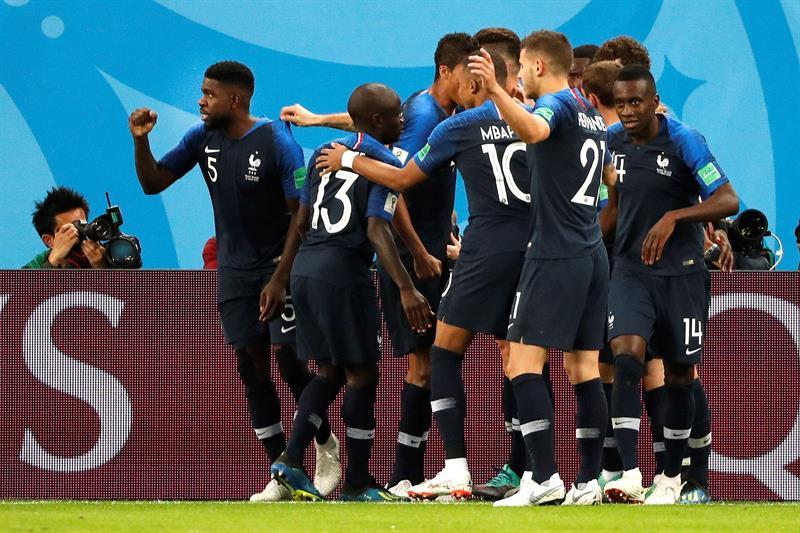 Francia derrotó a Bélgica 1-0