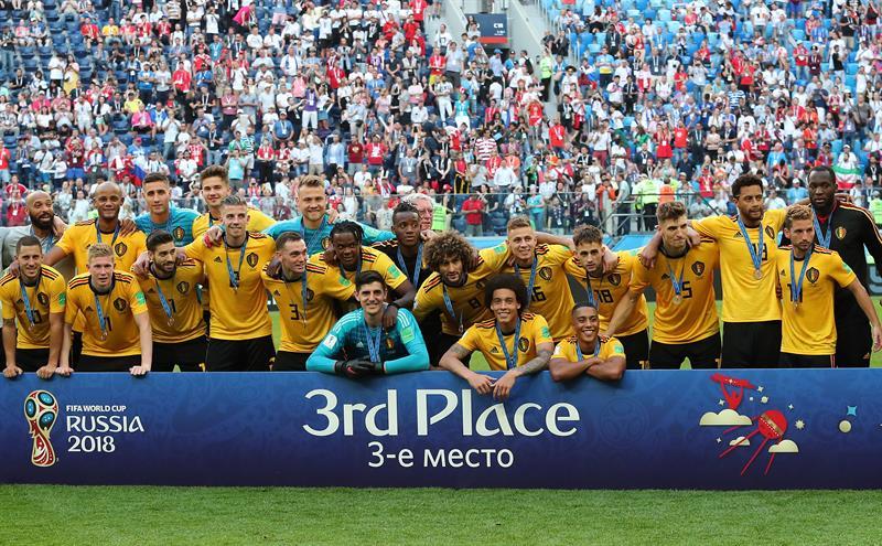 Bélgica venció a Inglaterra