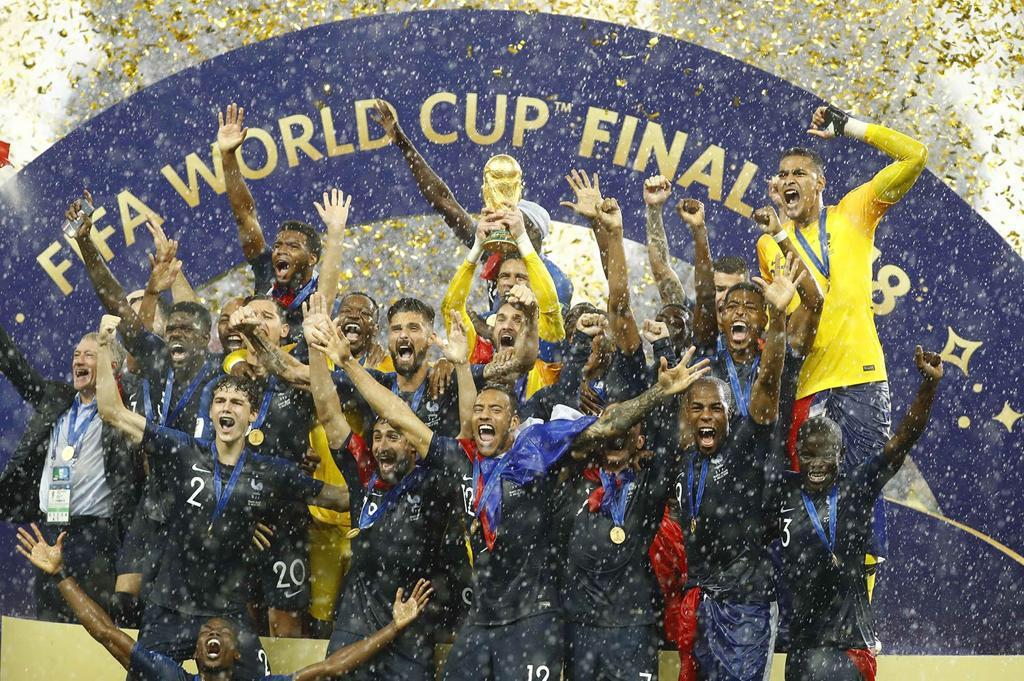 Francia campeón del mundo