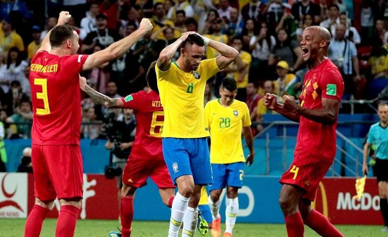 Neymar quedó en deuda en el partido ante Bélgica