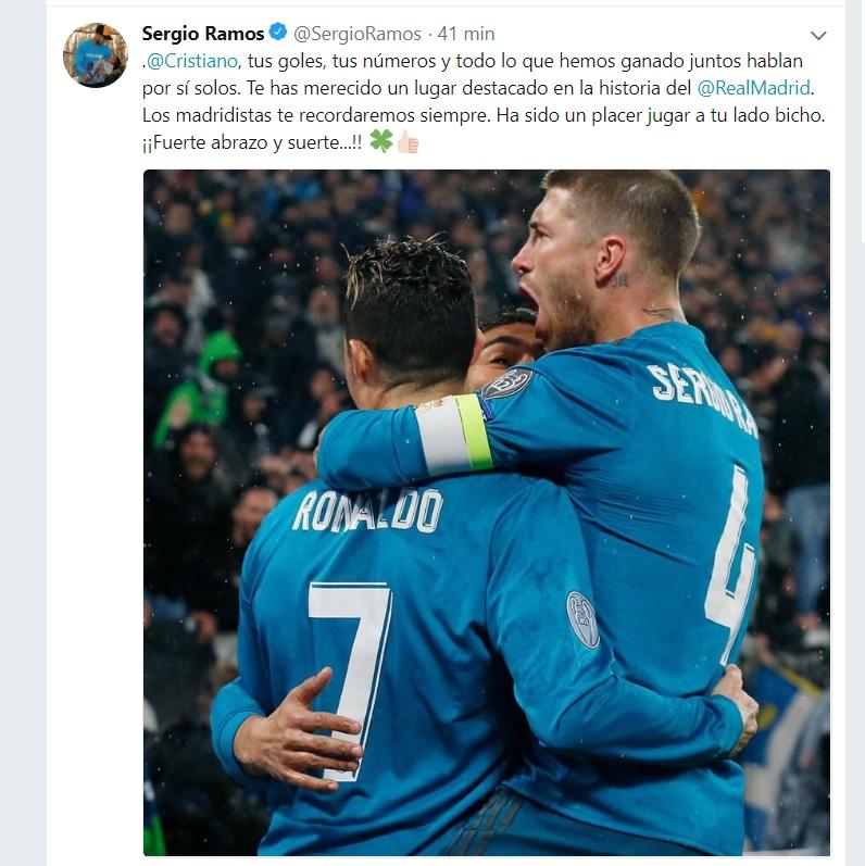 Cristiano Ronaldo se fue a la Juventus