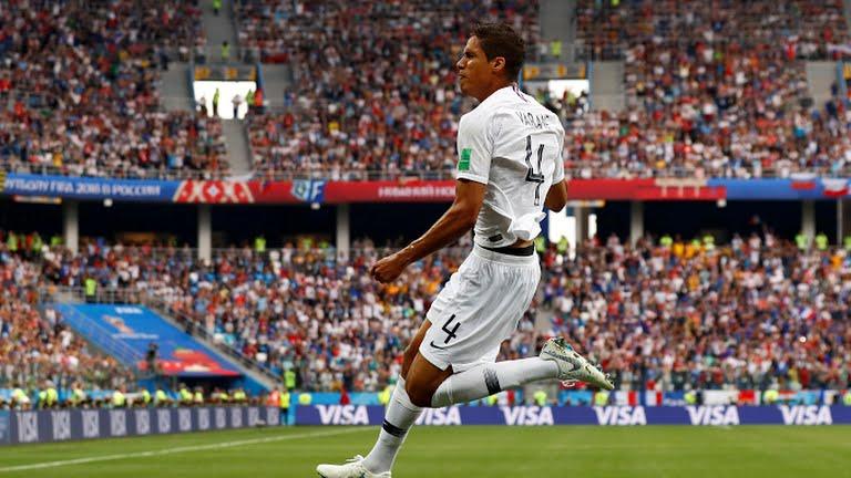 El zaguero del Real Madrid fue importante para la victoria francesa