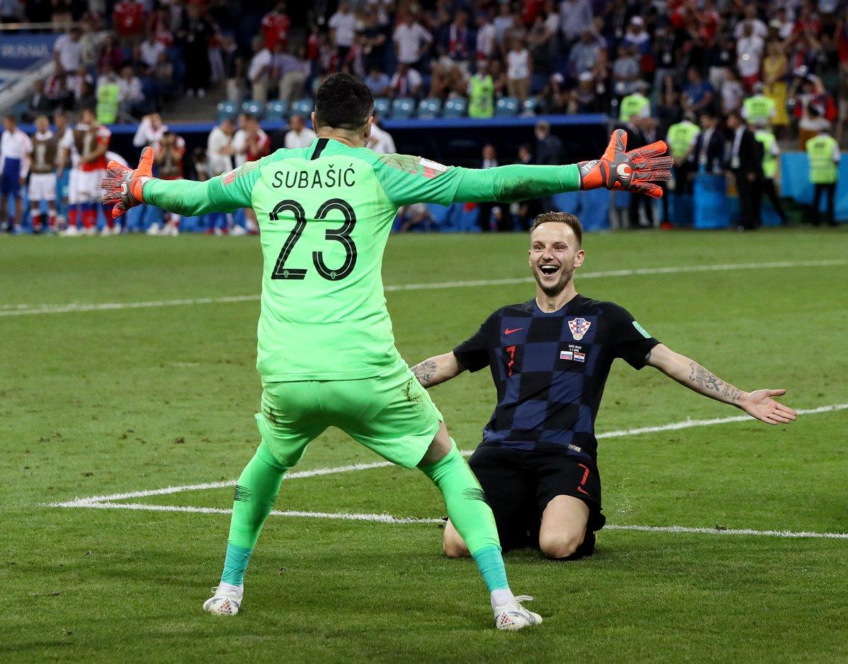 El equipo de Croacia se enfrentará a Inglaterra en semifinales