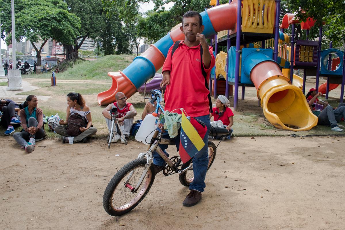 campesinos llegan a Caracas