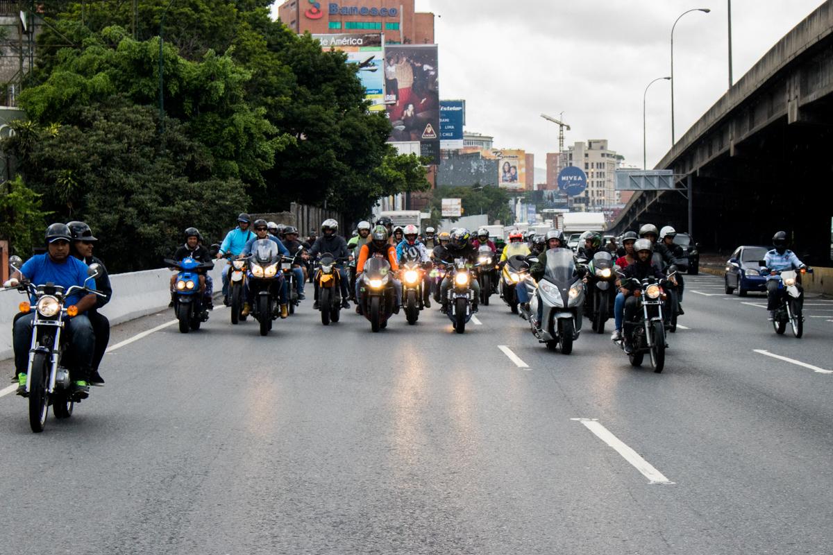 Motorizados caravana
