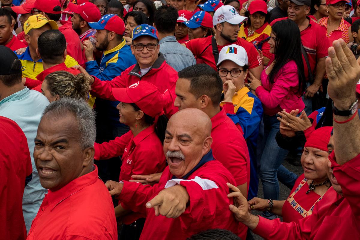 Chavistas marcharon