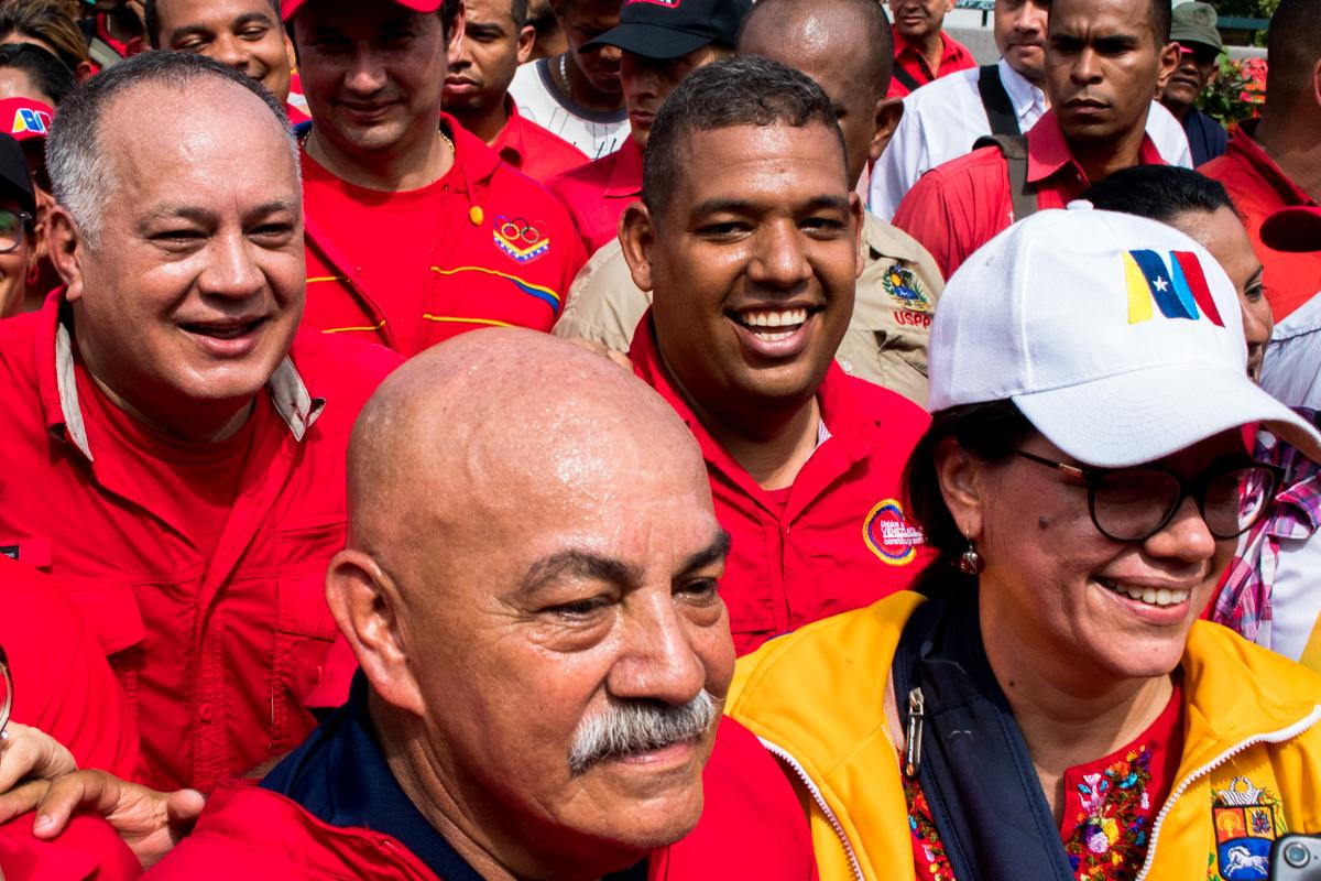 Chavistas marcharon en el este